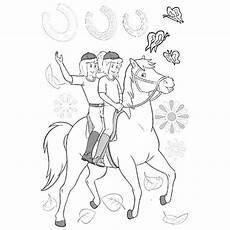 Ausmalbilder Bibi Und Tina Pferde Pferde Zum Ausmalen 01 Coloring Pages Horses Of