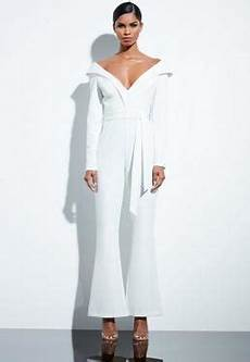 White Jumpsuits Ivory Jumpsuits Missguided Ireland