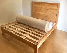 bed frame plank headboard funky diy bed frame wood headboard 1500 look for 100 a