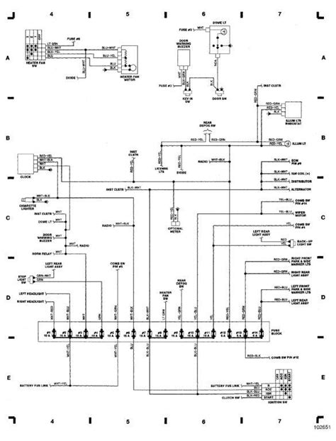 suzuki samurai alternator wiring diagram suzuki samurai fuse box diagram data pre  suzuki samurai fuse box diagram data pre