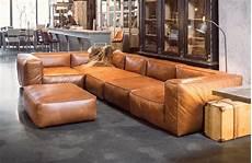 leder cognac leather corner sofa cognac colour woontheater