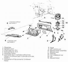 automobile air conditioning service 1993 mitsubishi galant on board diagnostic system repair guides heating and air conditioning blower motor autozone com