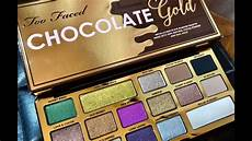 Faced Chocolate Gold Bar faced chocolate gold impressions swatches and