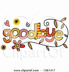 Goodbye Clipart Image