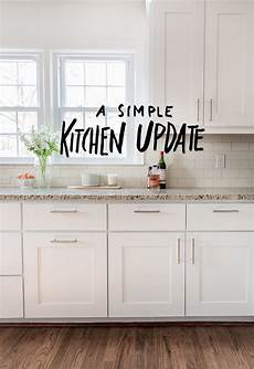 Kitchen Update Images by A Simple Kitchen Update Fresh Exchange
