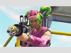 Zoey 4K 8K HD Fortnite Battle Royale Wallpaper