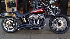 Harley Davidson Custom Softail Blackline Fxs West Coast