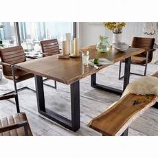union rustic modern live edge solid wood dining