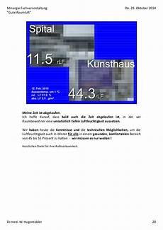 feuchte luft braucht der gesunde mensch pl 228 doyer f 252 r eine