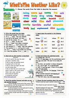 what s the weather like worksheet free esl printable worksheets made by teachers
