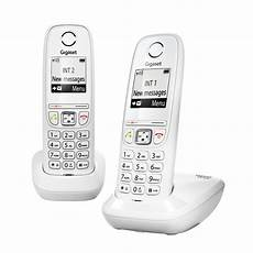 gigaset as 405 tel 233 fono inal 225 mbrico dect gigaset as 405 duo blanco
