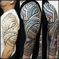 maorie oberarm hawaiiantattoosforearm polynesian