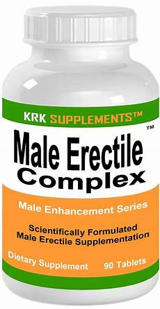 1 bottle male erectile complex enhancement dysfunction 90
