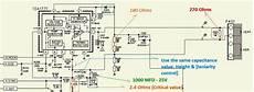 Horizontal Line Fault Crt Tvs Vertical Scan Output