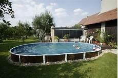 comment installer une piscine semi enterrée piscine hors sol en acier conseils 224 lire avant l achat