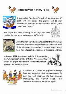 thanksgiving worksheets 18483 teaching thanksgiving history worksheet free esl printable worksheets made by teachers