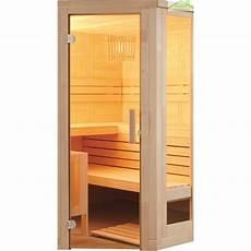 cabine de sauna cabine de sauna d angle komfort corner large de sentiotec