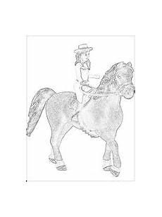 schleich pferde mit reiter ausmalbilder kostenlos und