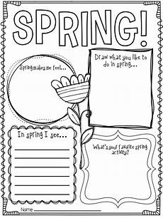 hello spring spring writing activities and craft spring writing activity spring writing