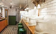 Toilet Transformed Into A Restaurant