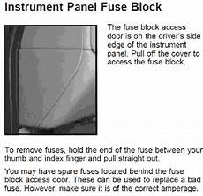 2006 Chevy Silverado Inside Fuse Box Diagram by Solved Need A Diagram Of The Accessory Fuse Box To Locate