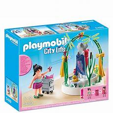 playmobil shopping centre clothing display 5489 toys