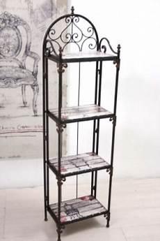 scaffali ferro battuto scaffale ferro vintage chic etnico outlet mobili etnici