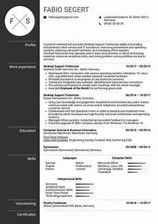 desktop support technician cv template invitation template ideas