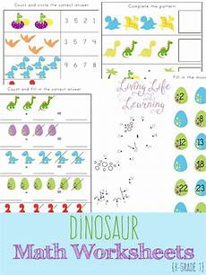 dinosaurs counting worksheets 15283 free dinosaur math worksheets math worksheets worksheets and number recognition