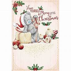 have yourself a merry little christmas me to you christmas card xsm01061 me to you