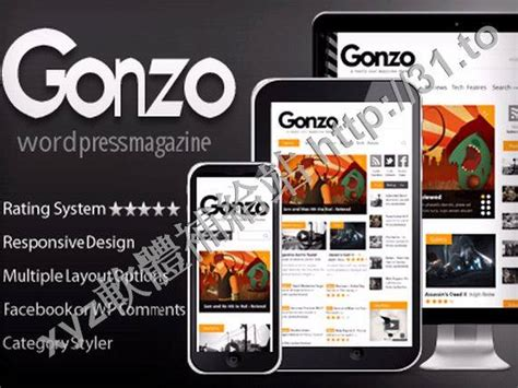 gonzo v1 9 3 themeforest clean responsive wp magazine