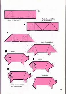 Simple Pig Origami 1 Origami