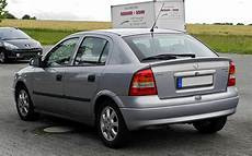 Opel Astra B - file opel astra 1 6 selection g heckansicht 21 juni