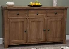 buy homestyle gb rustic oak sideboard large cfs uk