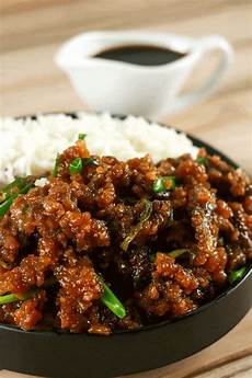 easy crispy mongolian beef scrambled chefs