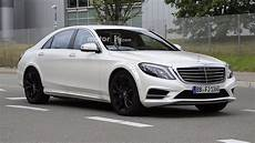 2021 Mercedes S Class Test Mule Spotted