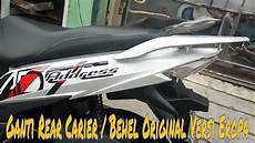 Modifikasi Suzuki Address by Modifikasi Behel Motor Suzuki Address Pakai Yang Versi