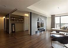 apartment with a retractable interior modern apartment with retractable glass walls for home