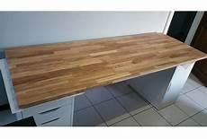 faire un bureau en bois cr 233 ation de bureau sur mesure en bois avec