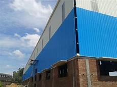 Metal Blue Cladding Sheet Thickness 2 3 Mm Rs 310