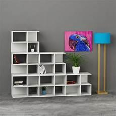 libreria componibile premiere libreria design componibile da parete 195x162cm