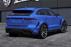 jaguar clr f jaguar f pace passeert bij lumma design autofans