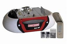 craftsman garage door opener system 3 4 hp belt craftsman 3 4 hp chain drive garage door opener 53990