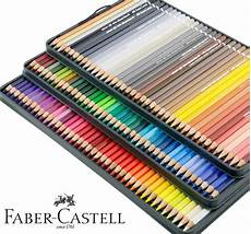 faber castell green iron box water soluble colored pencil