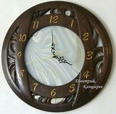 wall clock modern decoration stained glass carved