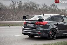ford focus st tuning ford focus st sedan by ss tuning has an sti wing