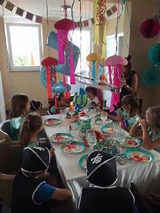 Meerjungfrau Geburtstagsgl 252 Ck Kindereventagentur
