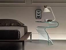 comodini in vetro da letto comodini moderni in vetro le proposte per la da