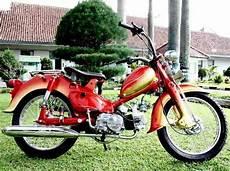 Modifikasi Motor Bebek Honda by Honda C70 Modifikasi Motor Bebek Keren