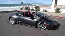 Lamborghini Hurac 225 N Spyder Convertible In